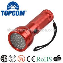multi color 51 led aluminum flashlight
