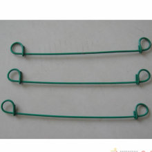Galvanisierter Draht + PVC-überzogener Schleifen-Bindungs-Draht
