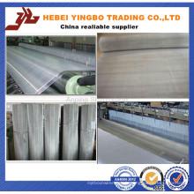 Treillis métallique tissé en acier inoxydable (SS201, 302, 304, 316, 316L)