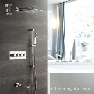 HIDEEP Bathroom Shower Termostática Bath Shower Faucet