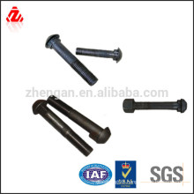 high quality railway fish plate bolt and nut