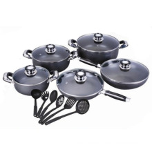 From China Wholesale Well Equipped Kitchen Cookware Set
