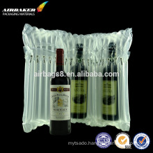 Fashion best selling durable inflatable air column bag for wine bottle protective