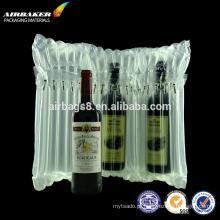 Melhor vender saco de coluna de ar inflável durável para garrafa de vinho protetora de moda