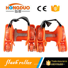 Professional roller skates flashing wheel for sale