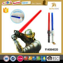 Novo estilo espada expansível laser com som