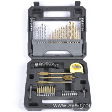High-speed steel drill sets for home and industry