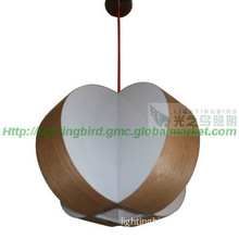 Elegant Modern Wooden  Pendant Lampe Corridor Wooden lamp Hotel