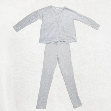 Grey pajamas for home