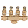 HOT sale garden hose 4 way copper fitting