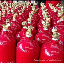 Cilindro de Gás Nitrogênio com Cor Vermelha