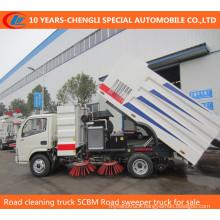 4X2 Foton Dry Type Wet Type Sweeper Truck