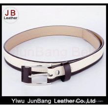 Cinturón de cuero cubierto de la PU de la hebilla