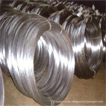 Alambre galvanizado de alambre de acero galvanizado