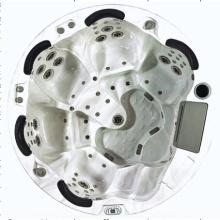 Baignoire ronde acrylique extérieure SPA (JL991)