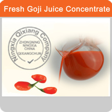 2016 Hot Sale Fresh GoJi berry juice concentrates