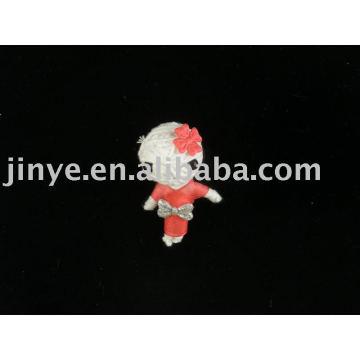 Boneca de vodu de boneca de corda artesanal