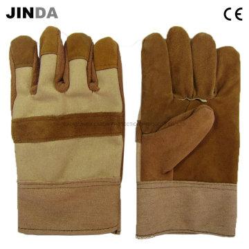 Рабочие перчатки рабочей защитной сварки (L003)