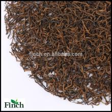 Thé noir de Golden Buds de haute montagne de GuangXi, thé noir de Congou chinois de super-catégorie