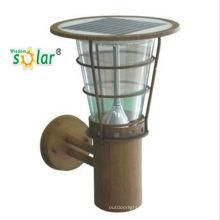 Wasserdichte CE outdoor solar LED Wandleuchte für Rasen lamp(JR-2602-B)