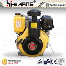 Motor diesel pequeño de 4 tiempos de 14 HP (HR192FB)