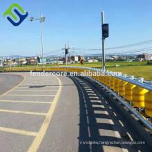 EVA material highway guardrail Safety roller barrier