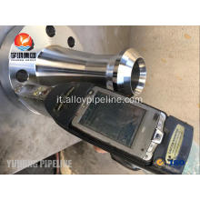 Flangeolet ASTM B564 UNS N06625 RTJ Inconel 625 Flangeolet con PT Testing.