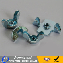 Stainless steel butterfly wing nuts
