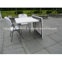 87cm Square Tplastic Folding Table for Wedding Use