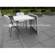 87cm Квадратный пластиковый складной стол для свадебного использования