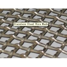 Alta qualidade em aço inoxidável Prensado Wire Mesh