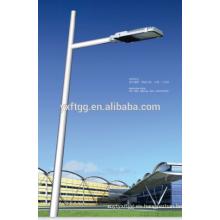 2015 la mejor venta IP65 Diseñó nuevamente las luces de calle accionadas solares que funden a troquel la aleación de aluminio LED-D1301 Las luces solares
