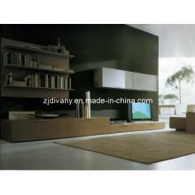 Salón de estilo moderno italiano madera televisor gabinete (SM-TV02)