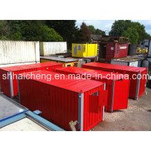 Conteneurs de salle de séchage de site de 20 pieds avec fenêtre pliable (shs-fp-special009)
