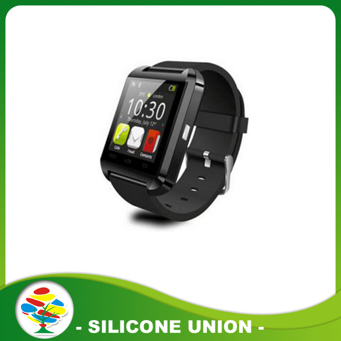 U8 black smart watch