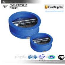 Grey iron bronze spring medical check valve butterfly valve for cement