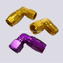 hose connectors of golden hose ends