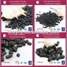 Carbono ativado de dessulfuração de gás industrial para purificação do ar