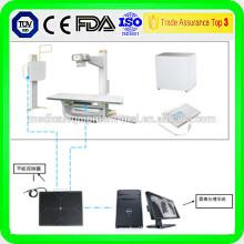 14 '' x 17 '' Detector de rayos X inalámbrico de rayos x para radiografía de rayos x en clínica médica dianostic
