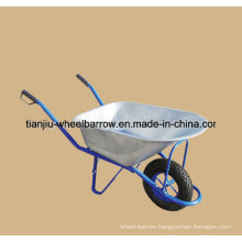Farm Tools Heavy Duty Construction Galvanized Wheelbarrow Wb6413
