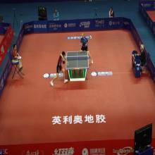 Enlio 5.5mm table tennis floor mat with ITTF