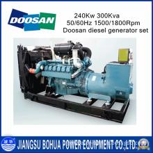 300kVA Doosan Low Consumption Diesel Generator Set