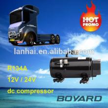 r134a boyard sin escobillas compresor de cc kit de aire acondicionado de aire acondicionado para coches 12 voltios rv aire acondicionado