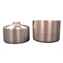 Metal de bronze lustroso da venda quente fábrica girada da China das peças de maquinaria das peças de maquinaria