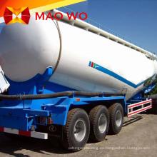 Remolques cisterna de polvo de cemento a granel Tri Axle 50M3