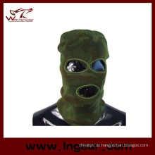 SWAT-Balaclava Kapuze 3 Loch Kopf Gesichtsmaske stricken