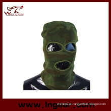 A SWAT Balaclava Hood 3 buraco cabeça enfrenta máscara da malha