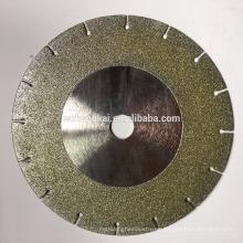 cuchillas de sierra circular de alta calidad para cortar discos de diamante electrochapado