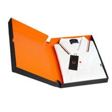 Boîte de papier de cadeau de carton pour les vêtements / boîte-cadeau d'habillement / boîte d'emballage de vêtement