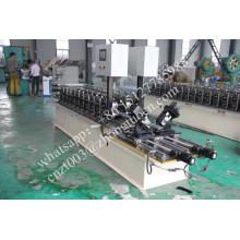 línea doble Drywall quilla ligera c perfil de la máquina